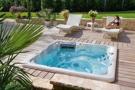 Jacuzzi Bois Exterieur Pour Terrasse Cheap Comment Choisir Son Spa