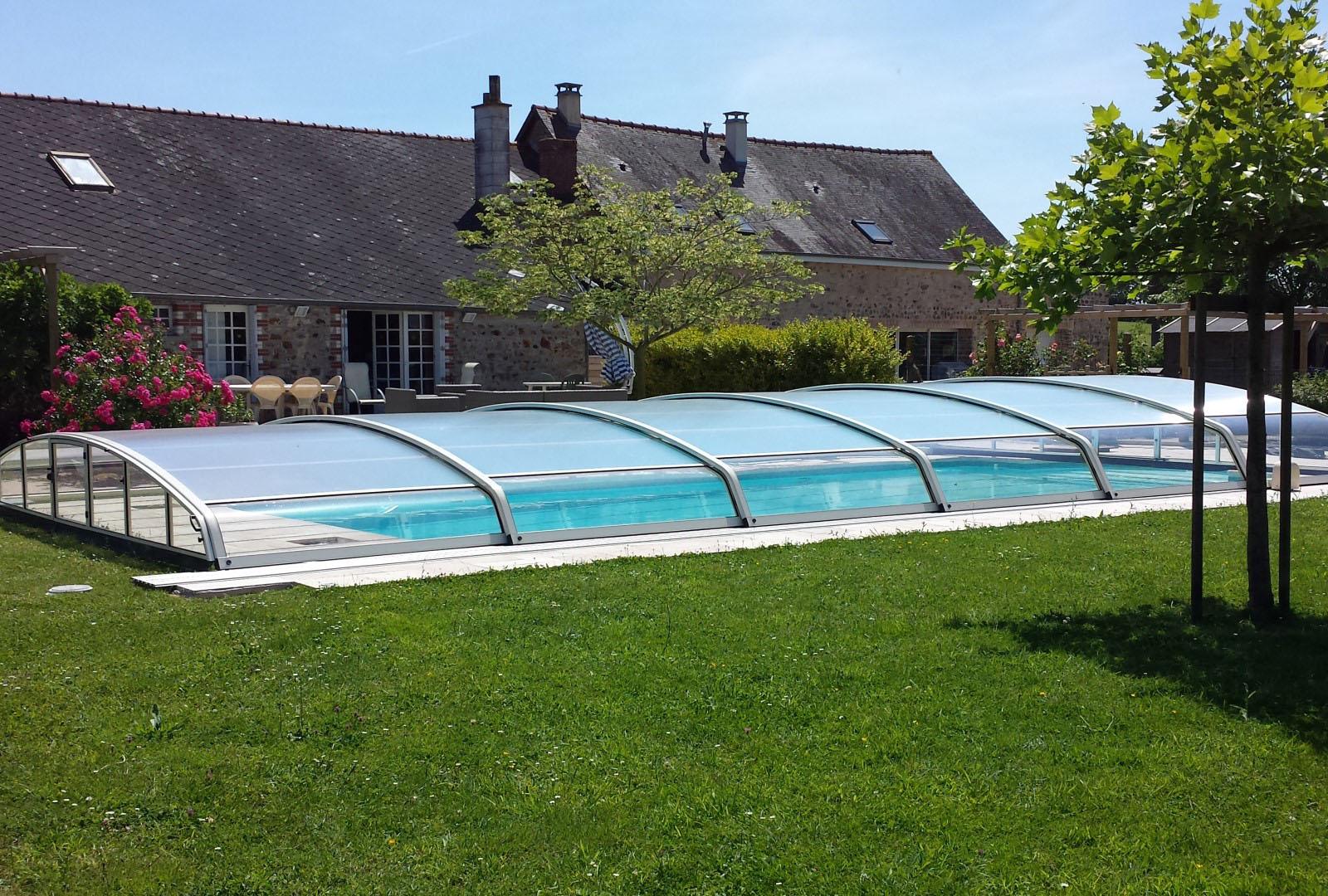 abris bas piscine confort nage