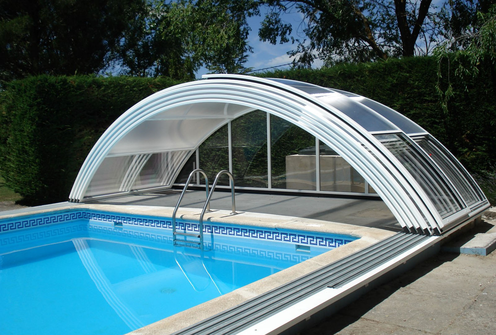 piscine abri confort haut telescopique