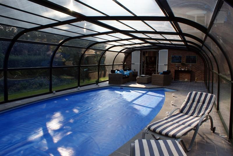 abri haut pour piscine stunning abri semihaut pour. Black Bedroom Furniture Sets. Home Design Ideas