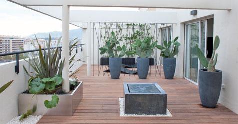 Amenagement balcon terrasse piscine et jardin - Amenagement balcon terrasse ...