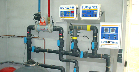 Installation Échangeurs thermiques pour piscine