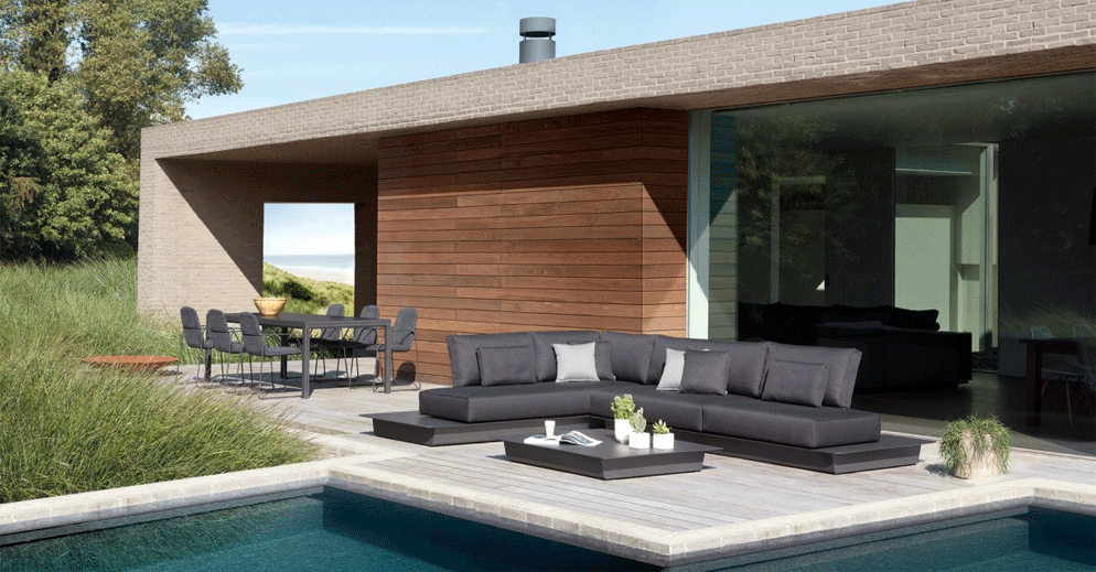 Mobilier ext rieur de standing art de vivre piscine for Decoration exterieur piscine