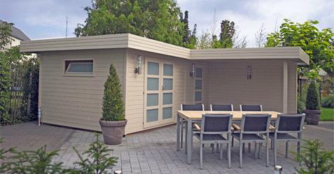 Fabrication et installation d'abri de jardin - Piscine et Jardin