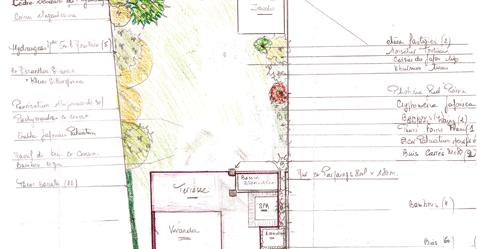 Conception de plan de jardin par un paysagiste : Piscine et Jardin à Arras 62