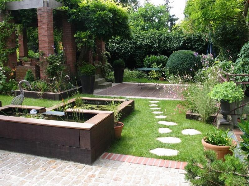 jardin contemporain fran ais anglais japonnais le