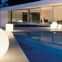Luminaire extérieur de piscine
