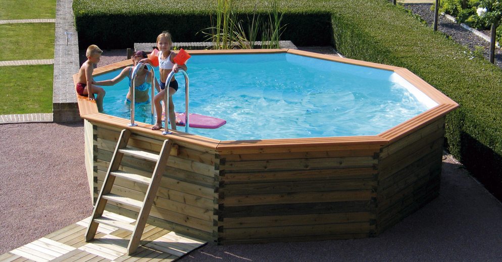 piscines en bois - Piscine & Jardin