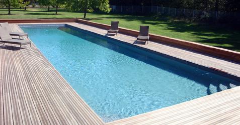 piscine ext rieure couloir de nage piscine et jardin. Black Bedroom Furniture Sets. Home Design Ideas