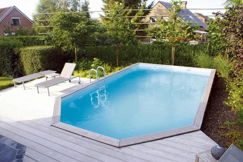 Piscines en bois pour les jeux d 39 eau piscine jardin for Piscine autoportante en bois