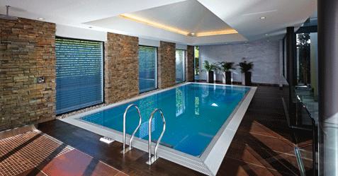 Construction de piscine intérieure dans le nord