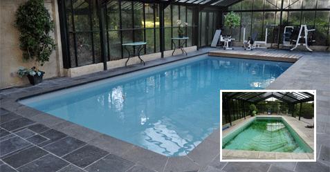 Rénovation complète d'une piscine dans le Nord