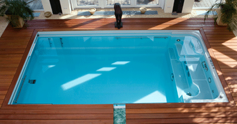 Photo de piscine de fitness aquatique