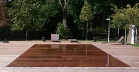 Photo de piscine à fond mobile