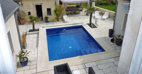 Photo de mini piscine
