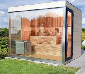 sauna traditionnel po le piscine et jardin. Black Bedroom Furniture Sets. Home Design Ideas