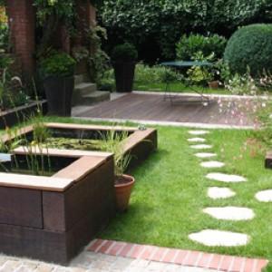 mise en sc ne de jardin con ue par un paysagiste piscine et jardin. Black Bedroom Furniture Sets. Home Design Ideas