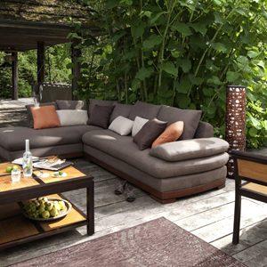 terrasse jardin pavage