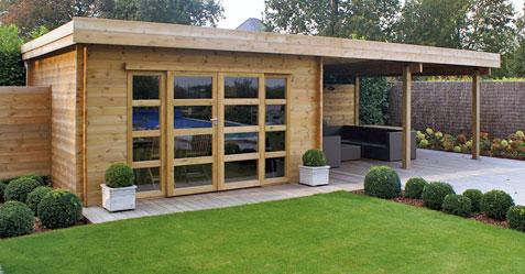 Abri de jardin style pool house piscine et jardin - Abri de jardin pool house ...