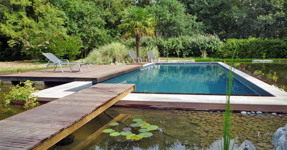 piscine bi-eaux - Piscine et Jardin