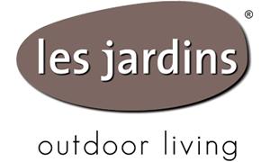 """Logo de la marque de mobilier extérieur tendance """"Les Jardins"""""""