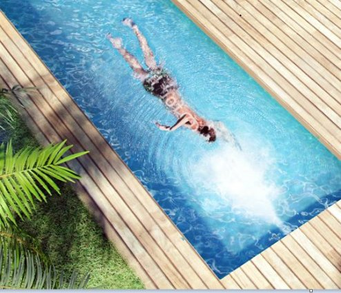 Installation d 39 escalier de piscine dans la r gion lilloise for Piscine nage contre courant
