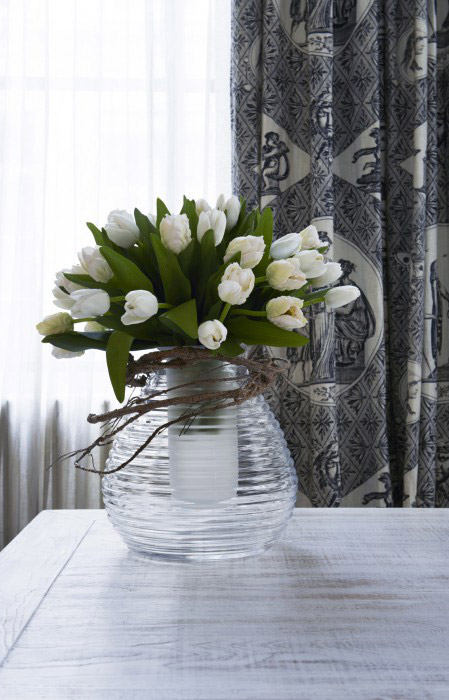 fleur tulipe artificielle decoration interieur