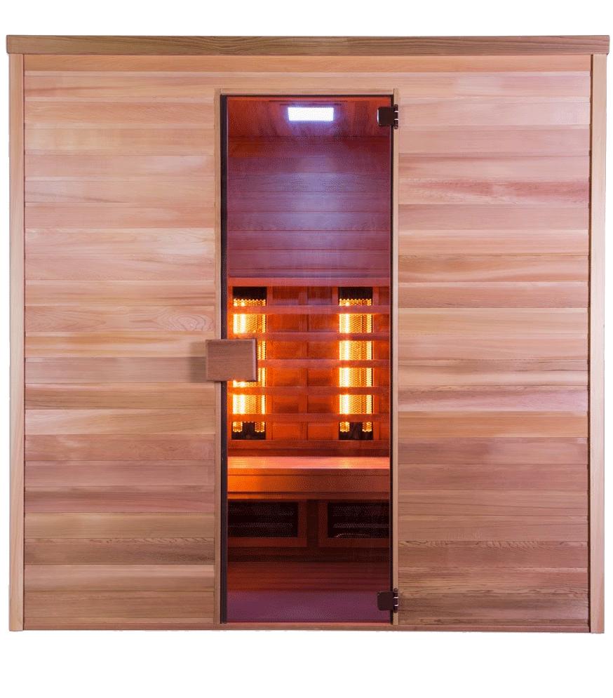 Sauna Infrawave combi piscine et jardin nord pas de calais picardie