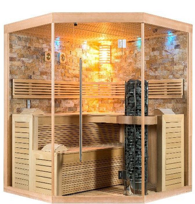 sauna a la maison cool chaleur de luxe with sauna a la. Black Bedroom Furniture Sets. Home Design Ideas