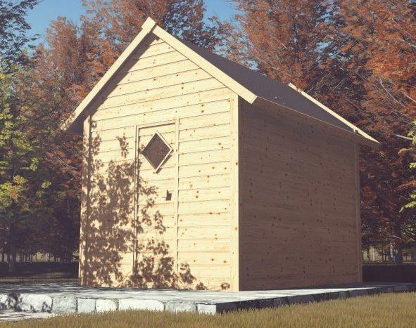 Sauna confort d'extérieur - Piscine & Jardin - Nord pas de calais picardie