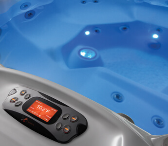 eclairage spa installation option led