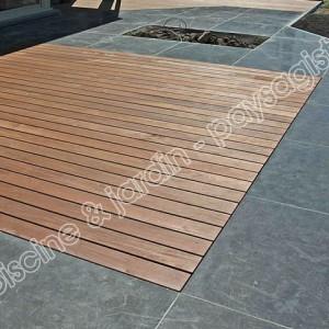 terrasse bois pierre dale