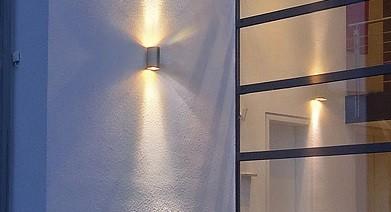 installateur éclairage extérieur en applique