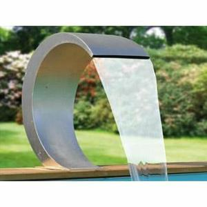installation de fontaine et cascade pour piscine dans le nord. Black Bedroom Furniture Sets. Home Design Ideas