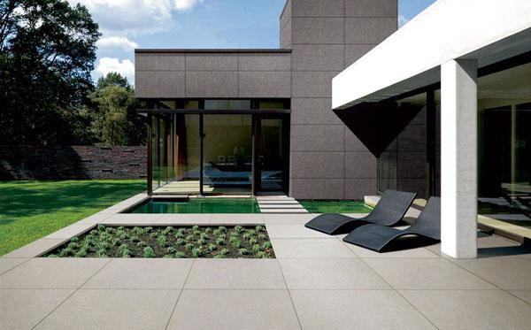dalle exterieur ceramique terrasse