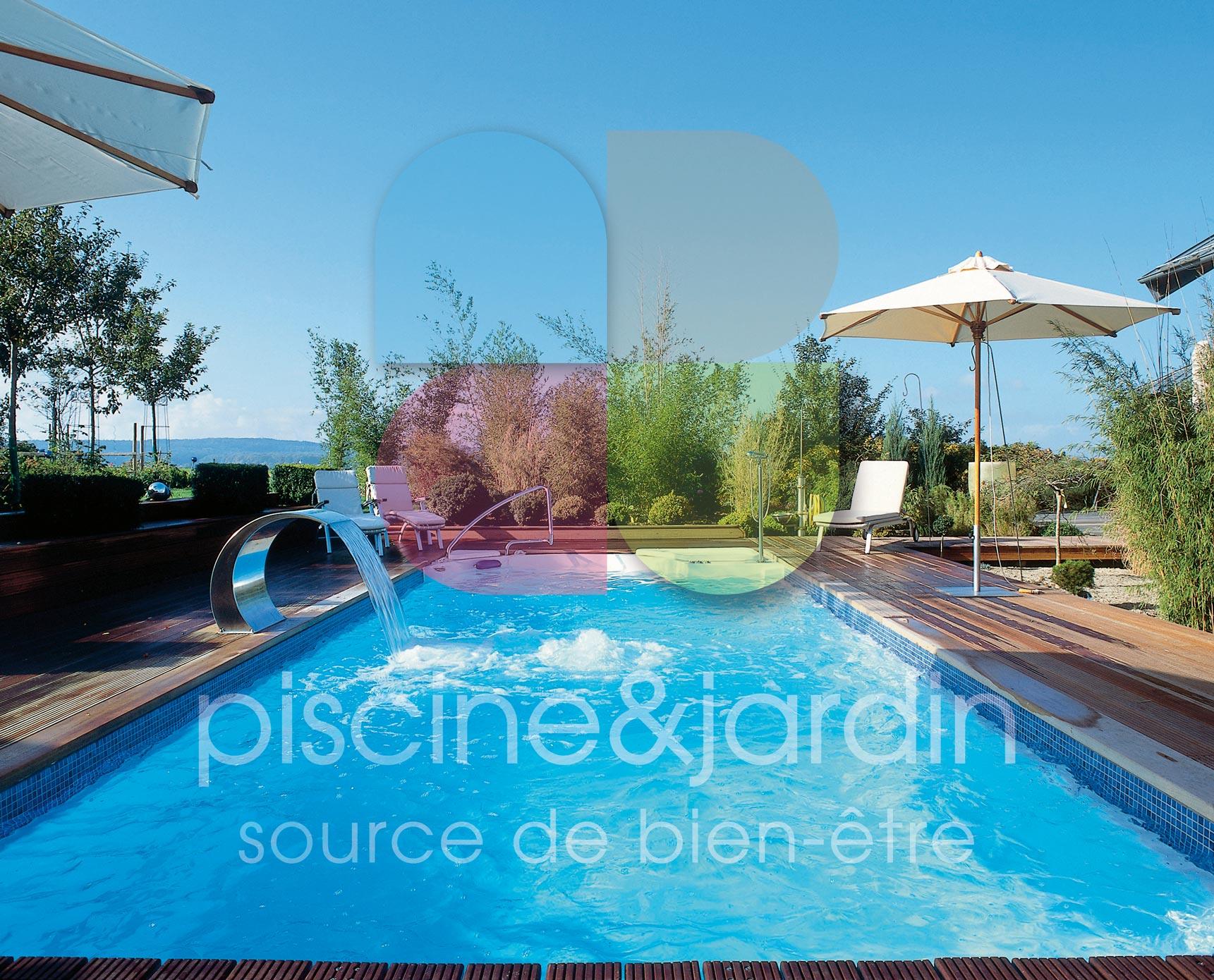 Installation de fontaine et cascade pour piscine dans le nord - Bassin aquatique contemporain calais ...