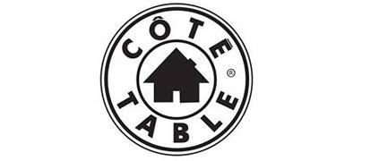Marque d'objets de déco COTE TABLE - magasin de décoration arras 62