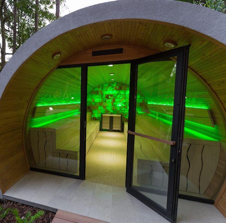 Sauna d'extérieur XL eclipse - Piscine et Jardin - Région Haut-de-france