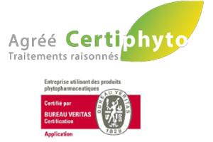 Certification phytosanitaire pour entreprise d'espace vert