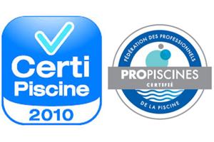 Le label Certipiscine valorise les entreprises certifié ISO 9001 ayant un système de mnagament de la qualité reconnue.