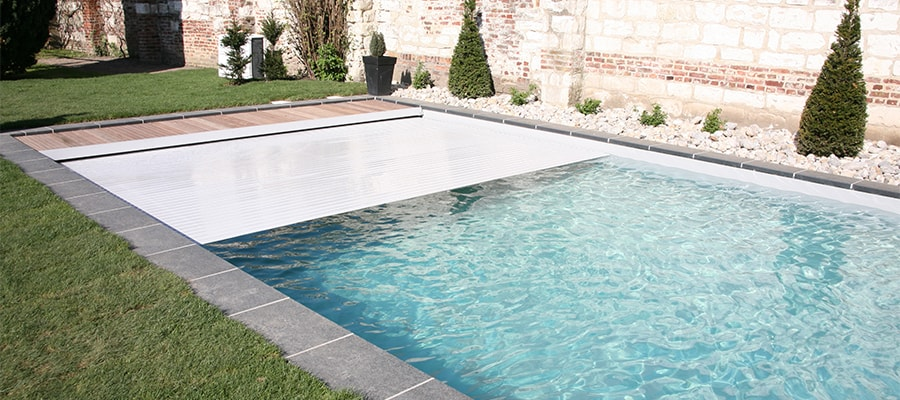 Installation de volet de s curit automatique pour piscine for Piscine de lille