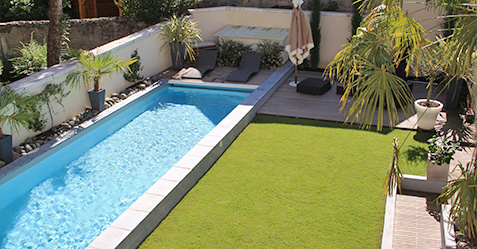 Construction d'une piscine en centre-ville avec ce projet de piscine citadine - Piscine et Jardin LILLE 59