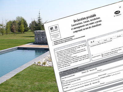 Bien tudier votre projet de construction de piscine for Construction piscine declaration