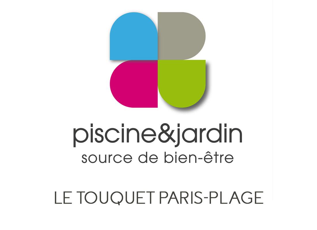 Logo du magasin piscine et jardin du touquet 62